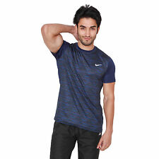 Branded Dry Fit Element Hz Navy Blue Half Sleeves Round Neck T-Shirt Men & Boys