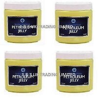 4 OR 2 X 284G  JUMBO VASELINE PETROLEUM JELLY SKIN BALM LIP THERAPY BODY LOTION