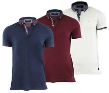 Brave Soul Mens 'Surf' Short Sleeve Collared Polo Shirt T-Shirt Top Size S-XL