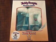Teddy Ruxpin Winter Adventure Bear Outfit New In Box Worlds of Wonder Clothes