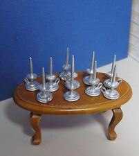 Miniature Dollhouse Furniture Candle Stick and holder 1