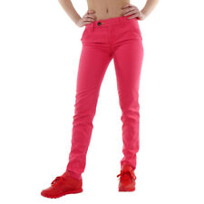Oldschool Womens Trousers adidas Core Chinos Pink 100% cotton