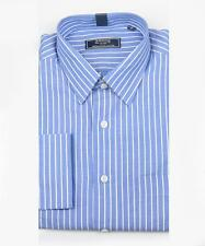 Branded Export Surplus Blue Striped Formal /Casual Shirt For Men & Boys