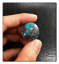 21 carats Natural Bisbee Turquoise Round Cabochon
