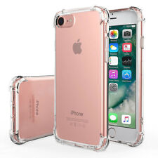 For Apple iPhone 6 7 Plus Rubber Hybrid TPU Clear Case Bumper Shockproof Cover