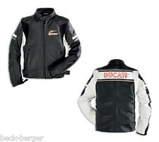 DUCATI Dainese EAGLE Meccanica Retro Giacca In Pelle Giacca Giacca NUOVO