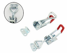 Drawer Latch Adjustable Toggle Catch Cabinet Cases Chest Cupboard Clip Clamp UK