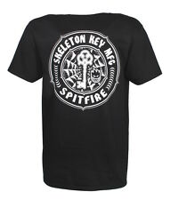 Spitfire Skeleton Key T-Shirt Black skateboard skate Wheels Size M