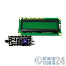 LCD 1602 Grün HD44780 I2C Interface Display Anzeige Bildschirm Arduino Raspberry