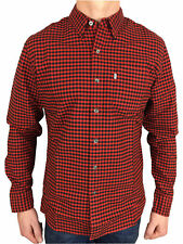 Levis Mens L/S Sunset 1 Pocket Shirt in Mentha Cherry