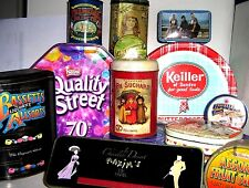 COLLECTABLE CONFECTION TINS 1960/2000  click - Select - to browse/order
