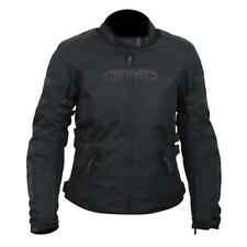 ARMR Kami Mujer Textil Chaqueta Moto Negro Impermeable CE Moto mujer NUEVO