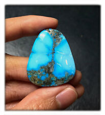 32 carats Natural Bright Blue Morenci Turquoise Cabochon