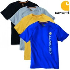 Carhartt Herren T-Shirt Force Delmont Graphic Men Shirt Atmungsaktiv S bis XXL