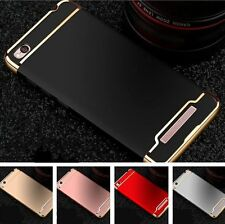 ★For Xiaomi Mi Redmi 4A ★ *3 in 1* Royal Electroplating Hybrid Back Cover Case ★