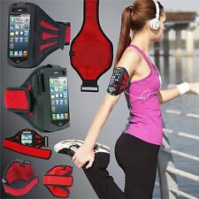Universal Running Jogging Cycling Gym Sports Armband Phone Case Pouch All Models