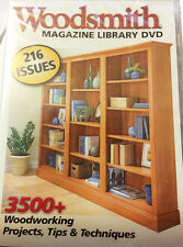 (NEW-Sealed) Woodsmith Magazine 216 Back Issues Library DVD 36 years Issue 1-216
