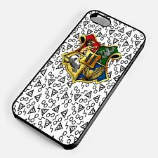 Harry Potter Hogwarts Four Houses Shield iPhone Samsung Phone Hard Cover Case