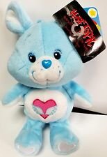 Care Bear Swift Heart Rabbit Cousin Plush 20th Anniversary Beanie MINT W/ TAG