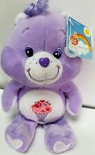 Care Bear Share 20th Anniversary Plush Beanie MWT ** MINT W/ TAG 8'' ** NEW