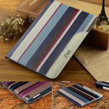 Luxury Thin Leather Smart Stand Case for ipad 2/3/4 5 6 air 2 Pro mini ipad 9.7