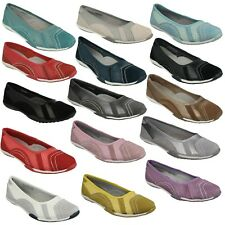 Da Donna Down To Earth Slip On, in pelle Ballerinas Taglie F8R991