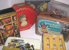 COLLECTOR's TINS - BISCUIT - 1960/2000 ~ click on - SELECT -  to browse or order