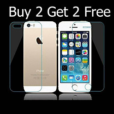 *TEMPERED GLASS FOR IPHONE 5/5C/5S/SE* 2.5D CURVED TEMPERED GLASS iPhone 5/5S/SE