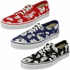 16bdee2f2c Vans Mens Casual Tropicoco White True Red Canvas Shoes