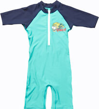 Billabong Shreddy Toddler Sunsuit in Aqua