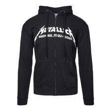 Official Black Metallica Hardwired To Self Destruct Hoodie - Band Merch UK