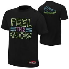 """Naomi """"Feel the Glow"""" Authentic T-Shirt - WWE - Wrestling"""