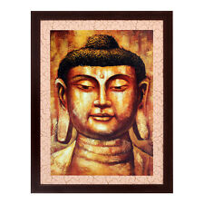 Buddha Texture Effect with Acrylic Glass Framed Painting (10B0003D2231622)
