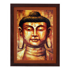 Buddha Texture Effect with Acrylic Glass Framed Painting (10C0003D2231622)