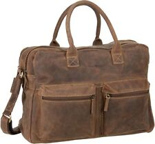 Greenburry Vintage 1674 Business-Officebag Aktentasche Leder Notebooktasche