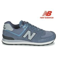 scarpa - NEW BALANCE 574 - men's classics sneakers azzurro cenere ML574CUB