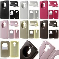 ROAR KOREA Noble Window View Leather Stand Case Flip Cover for LG G4 Stylus