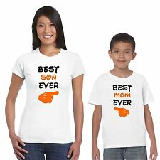 Best Mom and Son T-shirts Set of 2