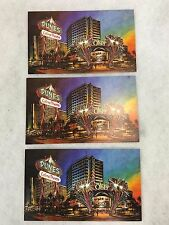 Vintage 1970's Lot of 3 Oasis Casino at the Dunes Hotel Postcards