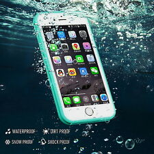Waterproof Shockproof TPU Hybrid Rubber Phone Full Case Cover for iPhone 6 6S 7