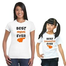 Best Mom and Daughter Tshirts Set of 2