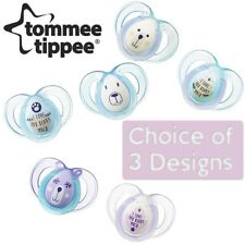 Closer To Nature Night Time Soother Twin Pack - 6-18m (Choice of Design) (A09)