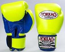 Guantoni YOKKAO BOXING NEON muay thai gloves thai boxing kick boxing pugilato