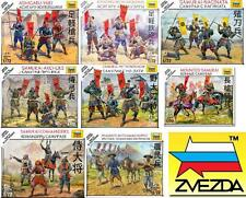 ZVEZDA SAMURAI BATTLES -20MM WARGAME & FIGURES -SENT 1ST CLASS -FULL RANGE JAPAN