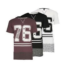 SOUL STAR MENS CANVY AMERICAN FOOTBALL STYLE T-SHIRT TOP RRP£19.99 SAVE 60%
