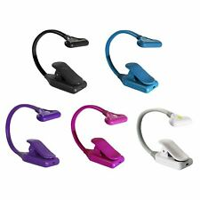 Mighty Bright NuFlex 3 LED Clip On Book Light With 35 Lumens, Various Colours