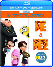 Despicable Me 2-Movie Collection (2017, Blu-ray NUEVO)4 DISC SET (REGION A)