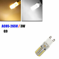 G9 Silica Gel 3W 64 LED 3014 SMD Warm/Pure New White Light Bulb Lamp AC 85-265V