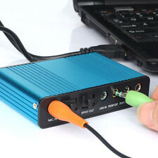 USB External Optical Audio 6 Channel 5.1 Sound Card Adapter f/Laptop Computer PC