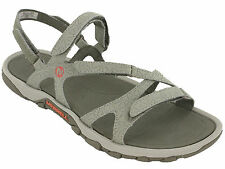 Merrell Sandals Terran Slide Leather Elastic Halter Strap Toe Post Summer Womens